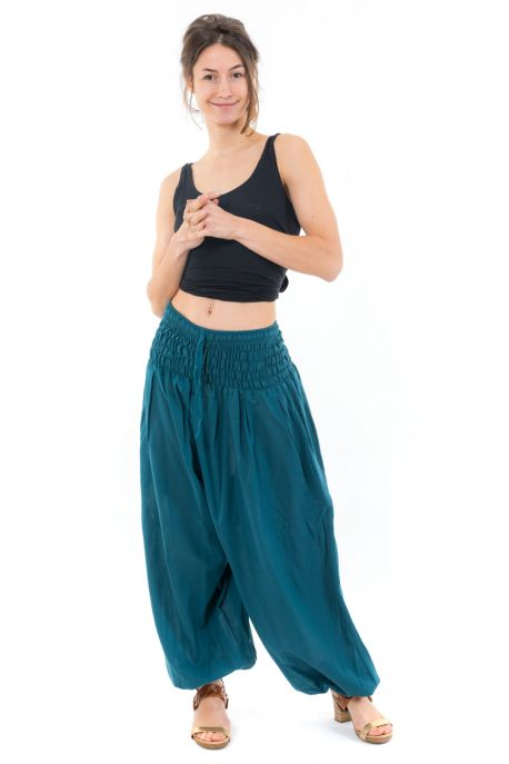 Pantalon saroual large elastique July
