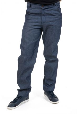 Pantalon droit jean mixte Misrita zoom