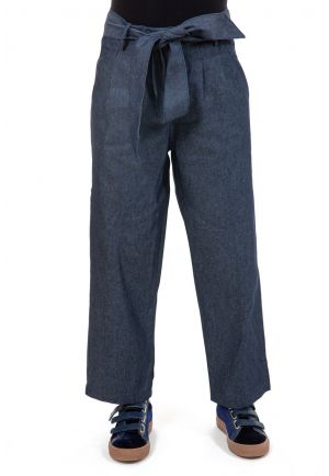 Pantalon jean droit large street chic zoom