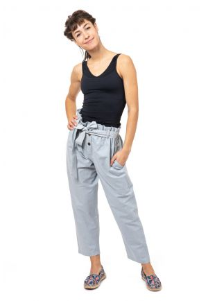 Pantalon carotte girly zen Kheti