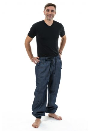 Pantalon jogging indian ethnic homme jean Jatih face